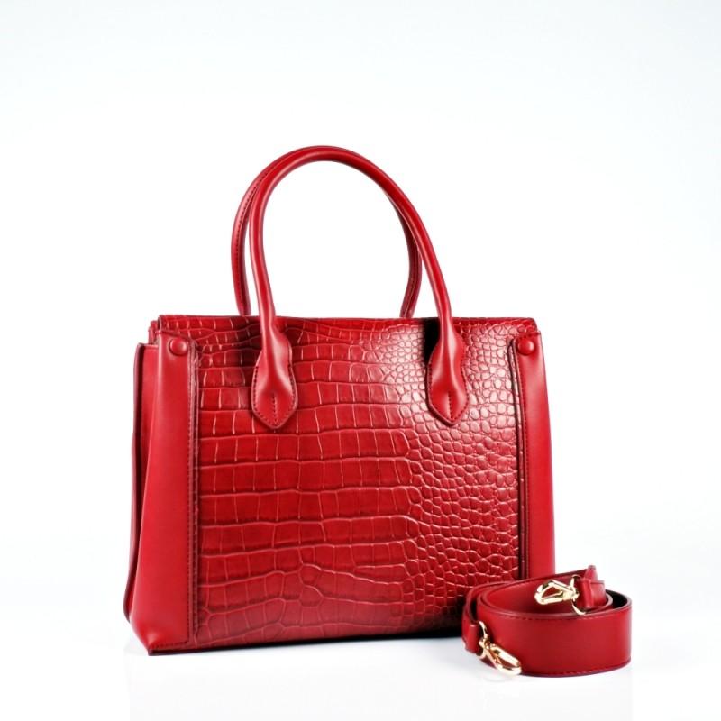Ежедневна чанта с твърда структура и две дръжки