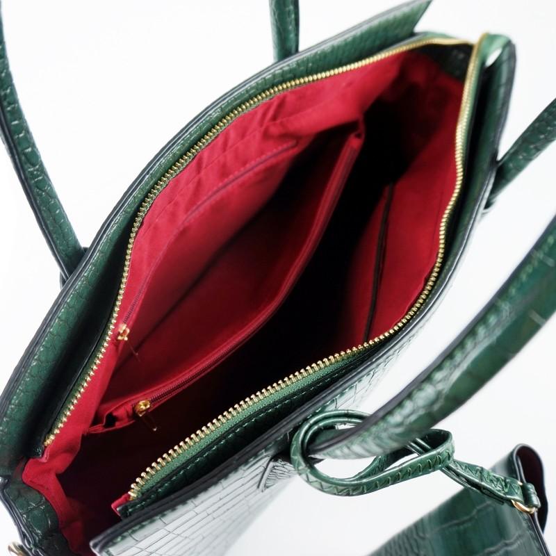 Офис чанта с животински принт