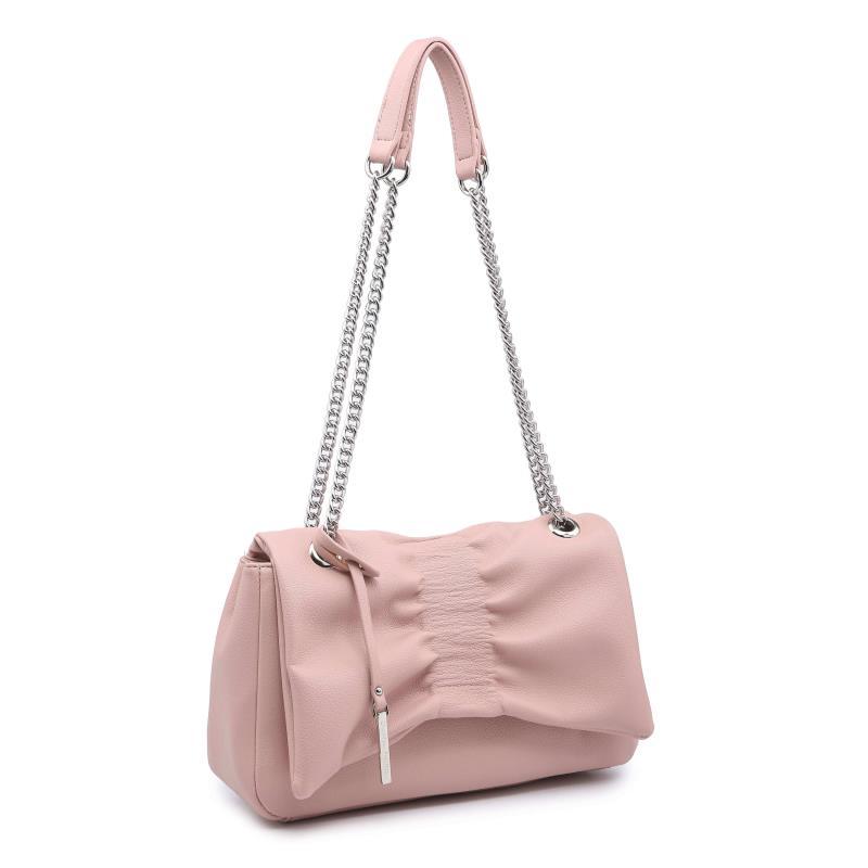 Ежедневна дамска чанта в розово