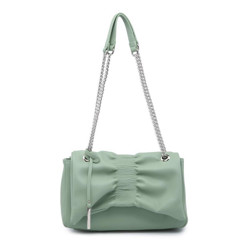Ежедневна дамска чанта в зелено