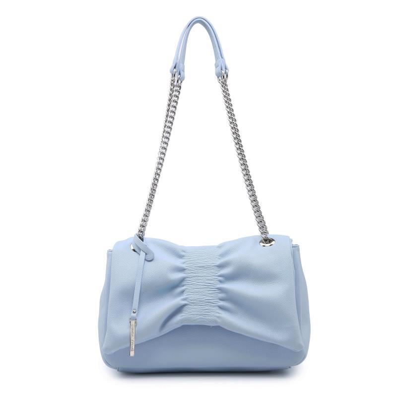 Ежедневна дамска чанта в светло син цвят