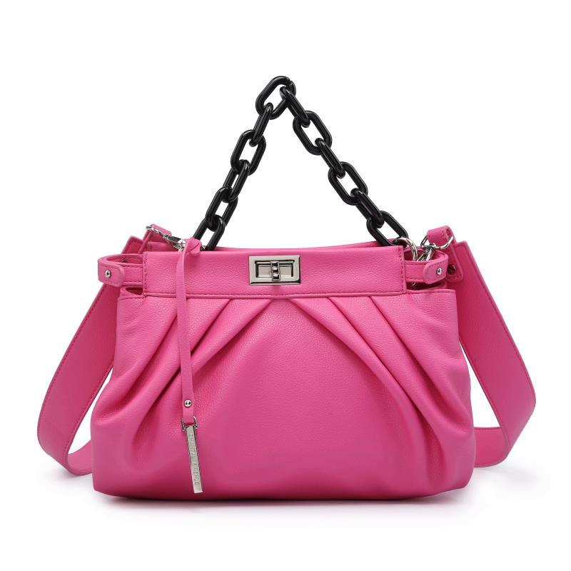 Ежедневна дамска чанта в цикламено