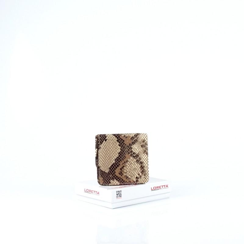 Малко дамско портмоне от естествена кожа