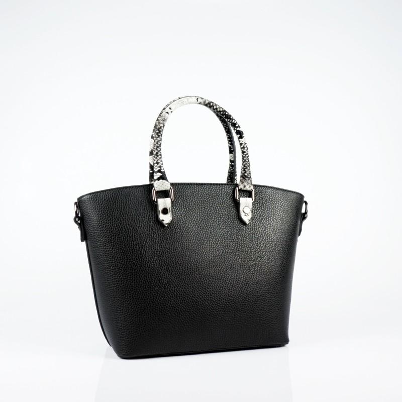 Ежедневна чанта от еко кожа в среден размер