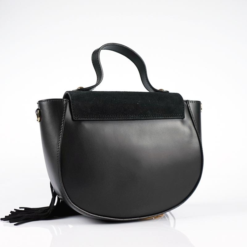 Малка чанта с ресни