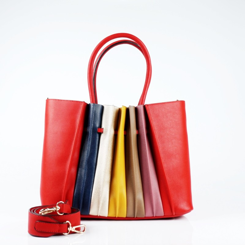 Чанта тип кошница