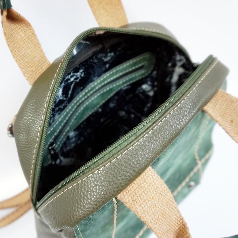 Раница с текстилни дръжки