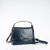 Малка чанта през рамо в тъмно син цвят
