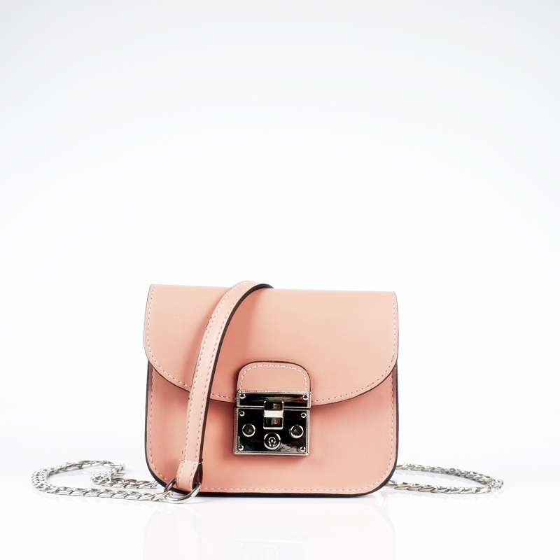 Мини чанта за рамо с дръжка от синджир