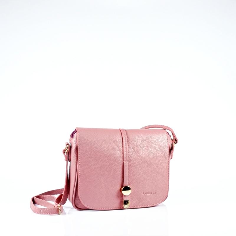 Стилна чанта през рамо в лилаво