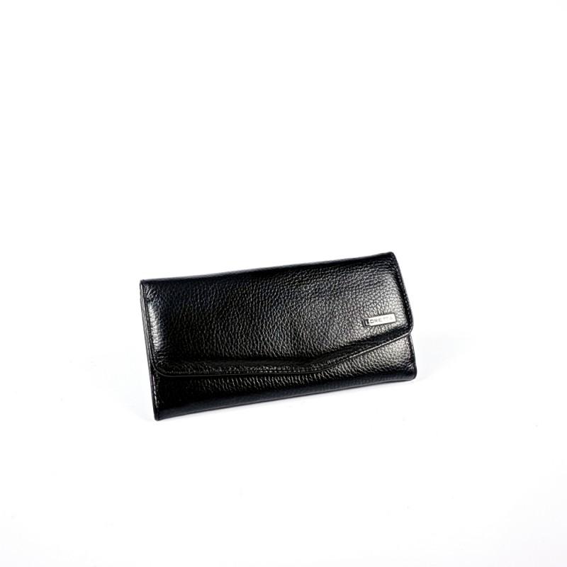Елегантен дамски портфейл от естествена кожа