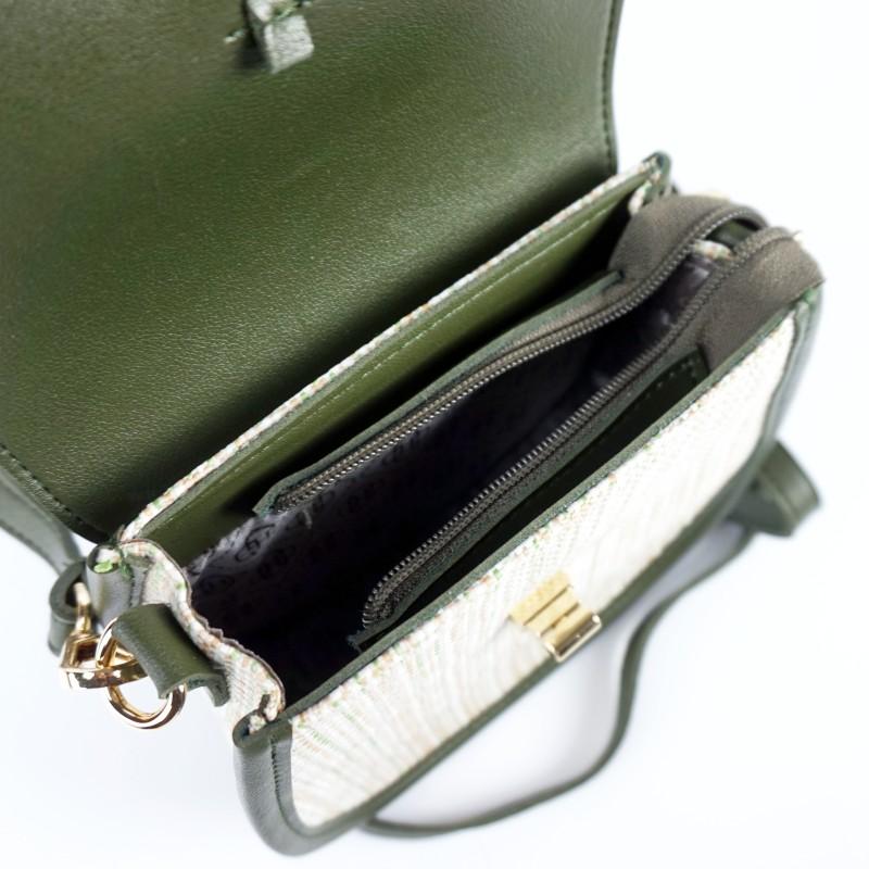 Плетена чанта през рамо