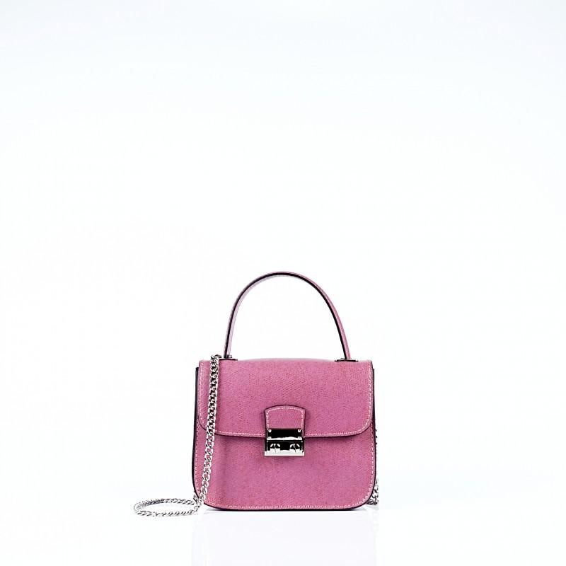 Малка чанта с дръжка от синджир