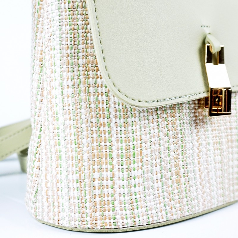 Плетена лятна дамска чанта