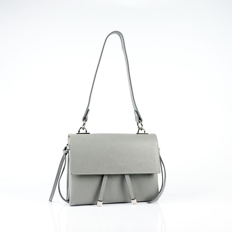 Луксозна малка чанта от естествена кожа