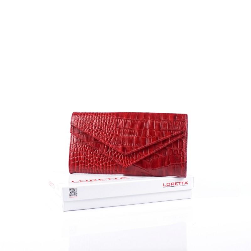 Стилен дамски портфейл от естествена кожа